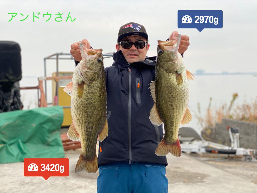 琵琶湖バスボート駐艇